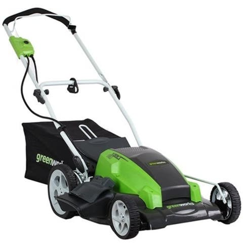 Greenworks 25112 21 in. 3-in-1 Electric Mower