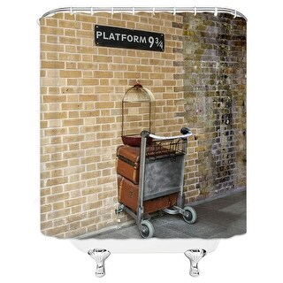 Link to Cross Station Harry Potter Bathroom Curtain Similar Items in Window Treatments