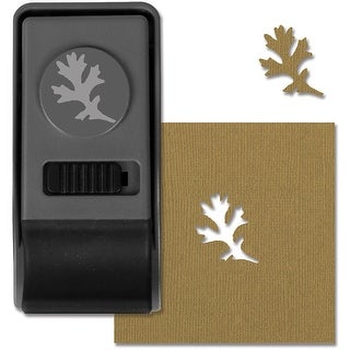 Sizzix Medium Paper Punch By Tim Holtz-Oak Leaf