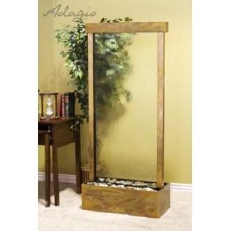Adagio H7C1550 Harmony River - Clear Glass Floor Fountain