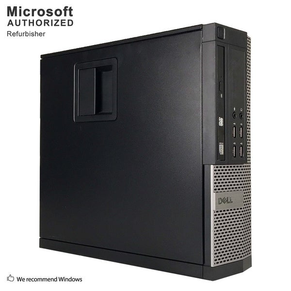 Dell OptiPlex 990 Desktop Computer SFF Intel Core i5 2400 3.1G 8GB DDR3 240G SSD Windows 10 Pro 1 Year Warranty (Refurbished)