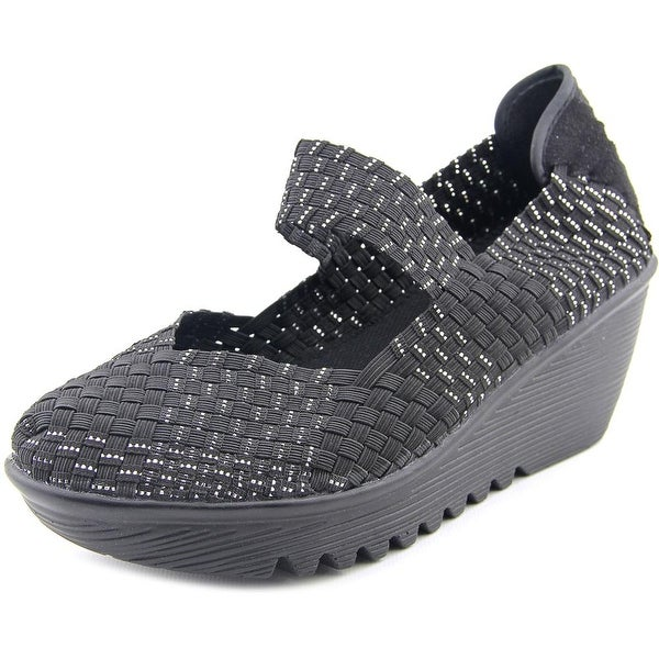 Bernie Mev. Lulia Women Open Toe Synthetic Wedge Sandal