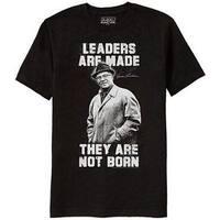 Green Bay Packers Vince Lombardi Leaders Aren't Born Men's Black T-Shirt