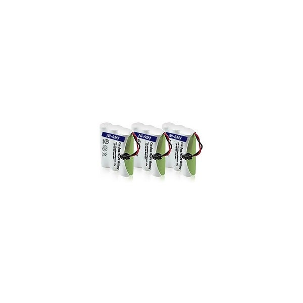 Replacement Panasonic KX-TC1503 NiMH Cordless Phone Battery (3 Pack)