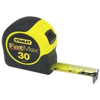 "Stanley 33-730 Fat Max Tape Rule With Mylar Coated Blade, 1-1/4"" x 30'"