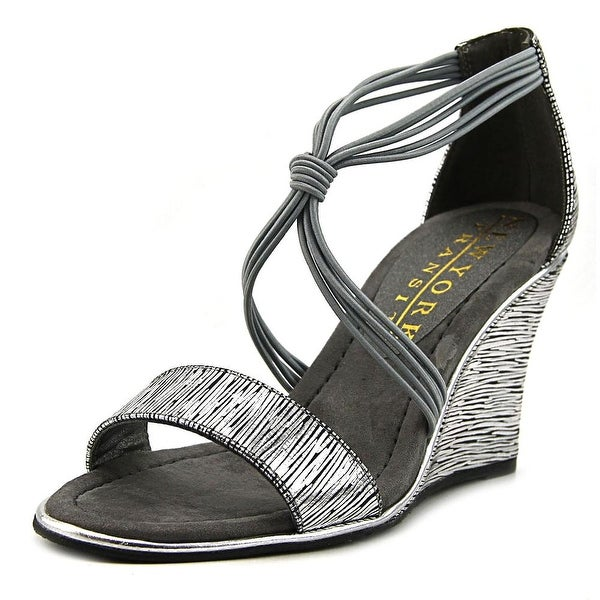 New York Transit Lively Woman Pewter Sandals