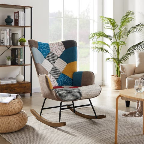 Rocking Chair Accent Chair for Living Room Bedroom