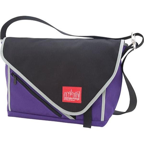 Shop Manhattan Portage Flatiron Messenger (Medium) Purple Black Silver - US  One Size (Size None) - Free Shipping Today - Overstock - 11792079 185e59571eccc