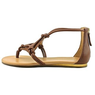 BCBGeneration Womens Sara Leather Split Toe Casual Strappy Sandals (5 options available)
