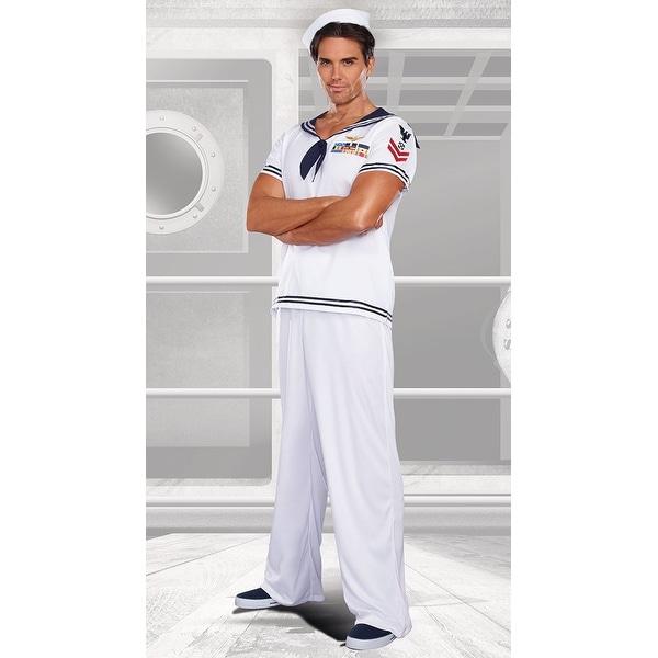 Ship Happens Sailor Mens Costume
