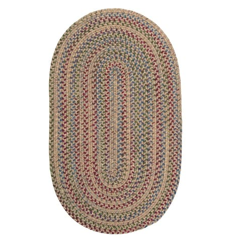 Colonial Mills Worley Rustic Braided Oval Rug