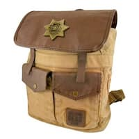 The Walking Dead Sheriff Rick Grime's Brown Backpack - Multi