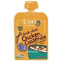 Ella's Kitchen  - Chick Chick Chicken Casserole ( 12 - 4.5 OZ)