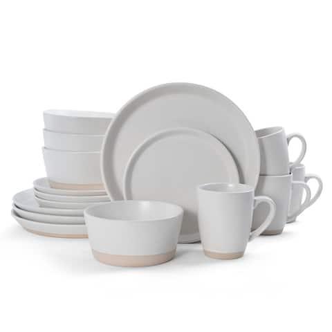 Pfaltzgraff Hudson Cream 16PC Dinnerware Set (Service for 4)