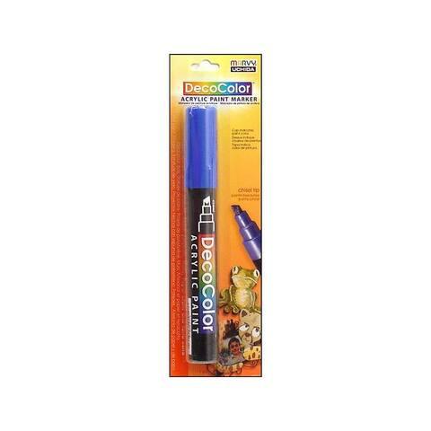 315c-3 uchida decocolor acry paint pen card blue