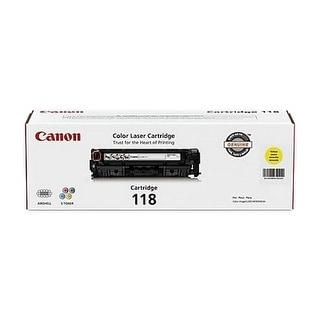 Canon Cartridge 118 - Yellow Toner Cartridge
