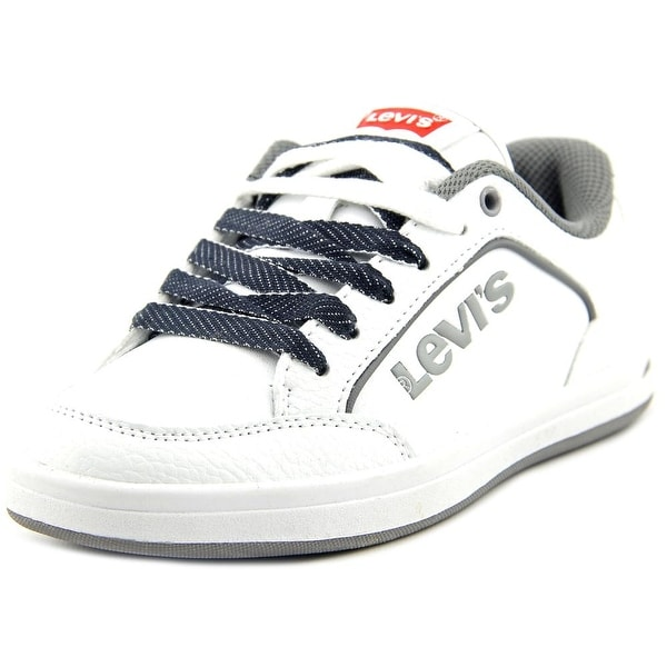 Levi's Aart Novelty Youth Round Toe Synthetic White Sneakers