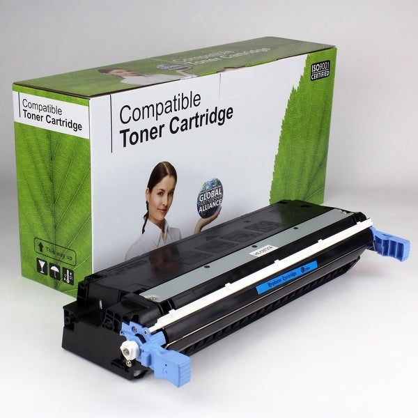 Value Brand replacement for HP 645A Cyan Toner C9731A (12,000 Yield)