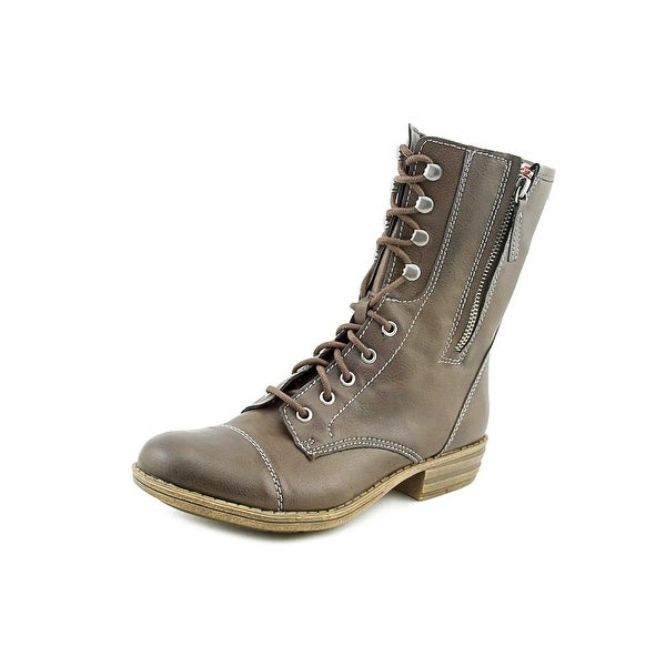 American Rag Deputy Women Round Toe Synthetic Brown Mid Calf Boot