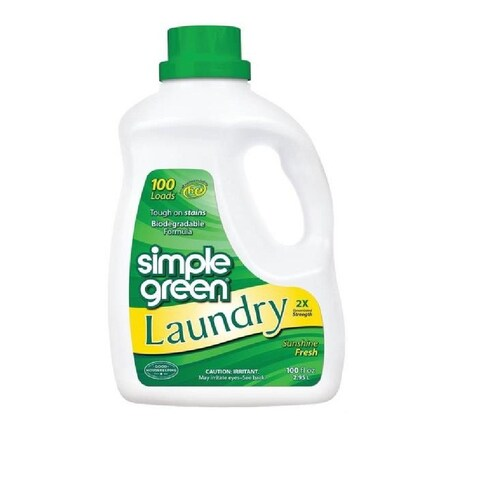 Simple Green 1510000417101 Laundry Detergent, 100 Oz