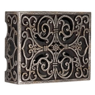 """Craftmade CAB Traditional 8.5"""" Wide Carved Door Chime"""