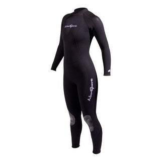 NeoSport Girls Neoprene 3mm Full Wetsuit 14 Black