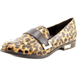 Marc Fisher Pagan Women Apron Toe Synthetic Multi Color Loafer