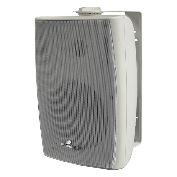 "Audiopipe 6.5"" Speaker (Sold each) White100W UV/Water Resistant Sold each White"