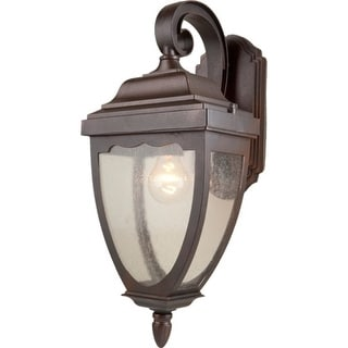 Artcraft Lighting AC8901OB Oakridge 1 Light Outdoor Wall Sconce - Gold