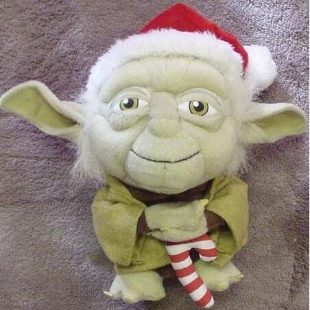 Star Wars Super Deformed Santa Yoda - multi