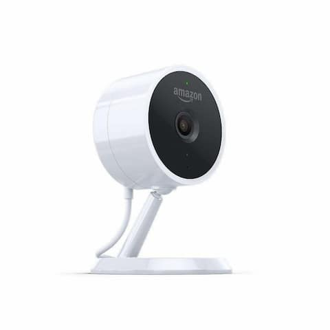 Amazon Cloud Cam, Security Camera, Works with Alexa - White