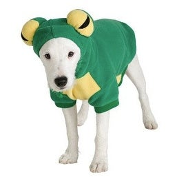 Frog Pet Halloween Costume Small 10-12""
