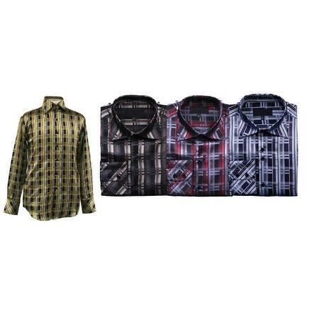 Men's Bold Check Shirt