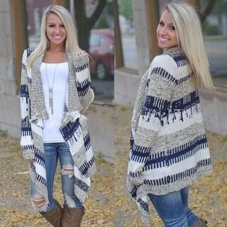 Link to Fashion Irregular Long Sleeve Knit Cardigan Similar Items in Women's Outerwear