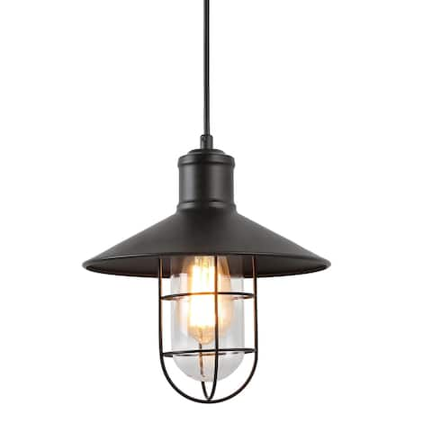 "The Gray Barn Heavenly Winds Cage Hanging Pendant Lighting Ceiling Lamp - D 10.2"" * H 10.2"""