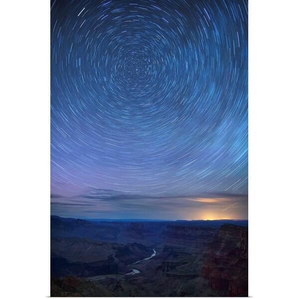 """Night Sky Over Colorado River, Arizona, USA"" Poster Print"