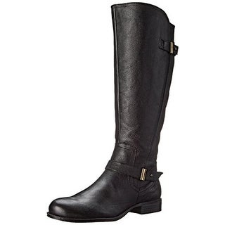 Naturalizer Womens Joan Leather Belted Riding Boots