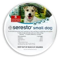 Bayer Seresto Small Dog Collar 8 months