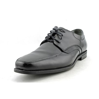 Florsheim Forum Men Moc Toe Leather Black Oxford