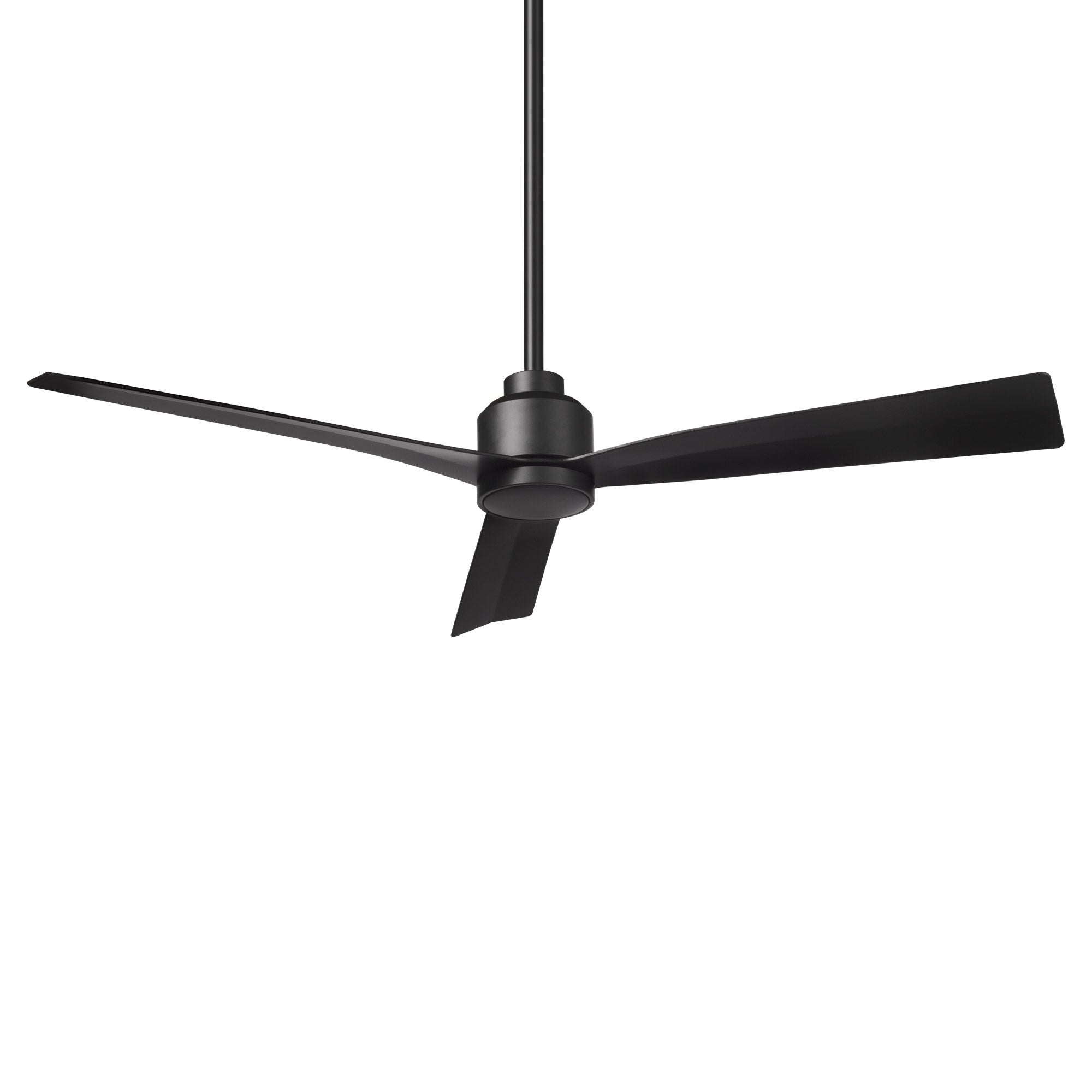 Shop Black Friday Deals On Clean Indoor And Outdoor 3 Blade 54in Smart Compatible Ceiling Fan In Matte Black With Remote Control Overstock 30981939