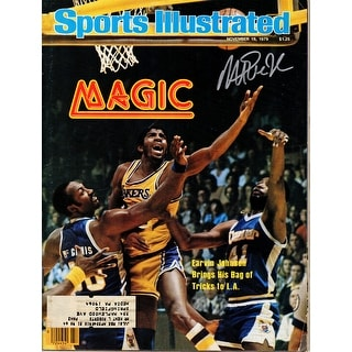 Magic Johnson Los Angeles Lakers 111979 Sports Illustrated Magazine