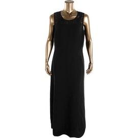 Mynt 1792 Womens Lace-Trim Evening Dress - 20W