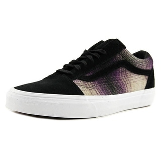 Vans Old Skool Reissue Men  Round Toe Suede Black Skate Shoe