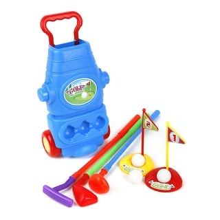 Ojam Swing N Play 9 Piece Kid S Toy Golf Set