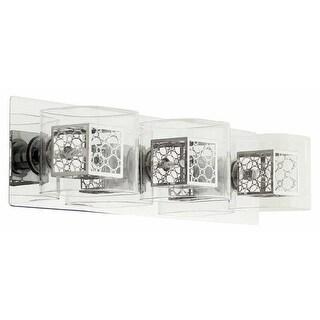 DVI Lighting DVP5843 Trilogy Three-Light Bathroom Fixture