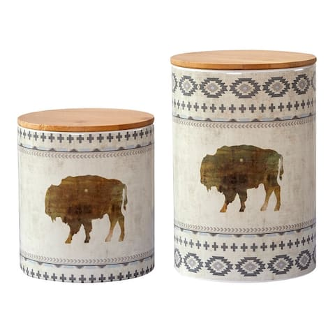 HiEnd Accents 2 PC Free Spirit Canister Set - N/A