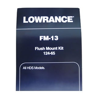 LOWRANCE 124-65 FLUSH MOUNT F/HDS SERIES Lowrance Flush Mount for All HDS Series FM-13