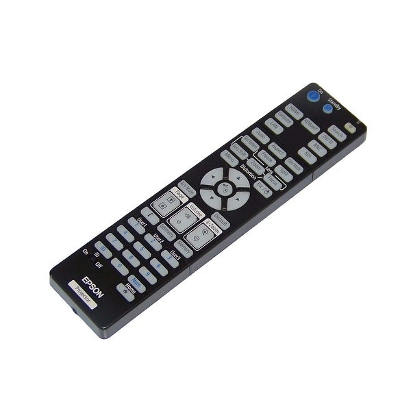 OEM Epson Projector Remote Control Shipped With Pro G7805, G7400U, G7100, G7200W