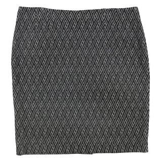 Link to Kasper Womens Knit Pencil Skirt, black, 14 Similar Items in Skirts