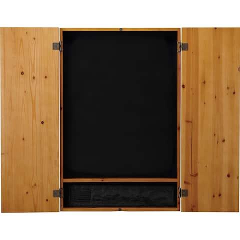 Viper Metropolitan Oak Finish Electronic Soft Tip Dartboard Cabinet / 40-0400